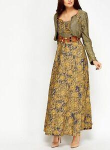 2 In 1Women Long Glitter Dress Party Elegant Ladies Sequin Dress