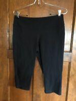 Lucy M Powermax Women's Black Workout Athletic Tights Capri Pants