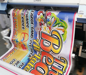2FTx8FT PVC VINYL BANNERS PRINTED OUTDOOR ADVERTISING SIGN 510gsm BANNER
