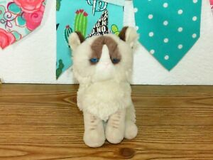 "Gund Grumpy Cat Mini Meme Kitty No Party Hat Mini Stuffed Plush Toy 7"" 4050493"