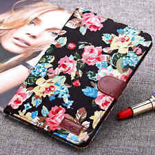 Luxury Cowboy Cloth Flower Leather Stand Case Cover For iPad Mini 1 2 3 4 Air 2