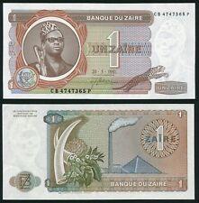 Congo Zaire 1 zaire 1981.05.20. Mobutu P19b Signature 3 UNC