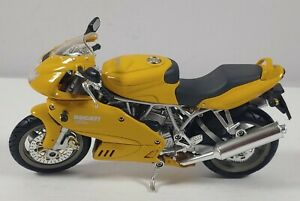 Ducati Desmodue 1000DS Yellow 1:32 Scale Diecast