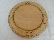 More details for antique / vintage carved border bread board kitchenalia