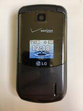 New listing Lg Vx5600 Accolade Verizon Wireless Light Gray/Silver Flip Cell Phone