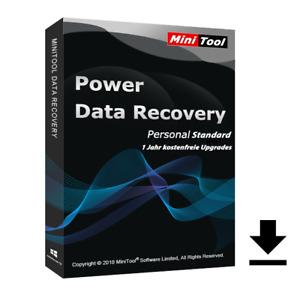 MiniTool Power Data Recovery Standard|1 PC/WIN|immer aktuell für 1 Jahr|ESD