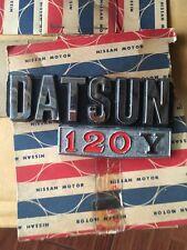 DATSUN 1200 B210 120Y SUNNY Emblem BADGE GENUINE PART NOS JAPAN.
