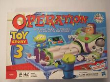 Disney Pixar Toy Story 3 Operation Game Buzz Lightyear Hasbro 100% Complete 2009