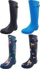 Norty Women's Hurricane Wellie - Glossy Matte Hi-Calf Rainboots - IRREGULARS