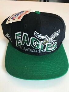 Vintage  Philadelphia Eagles Snap Back Cap Hat NFL Football Proline by Apex One