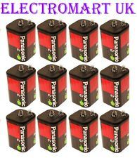 12 X PANASONIC TORCH LANTERN BATTERIES 6V PJ996 4R25R