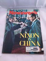 Newsweek Magazine Vintage Back Issue March 6 1972 Richard M Nixon Vintage