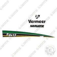 Vermeer D 9x13 Horizontal Directional Drill Decal Kit