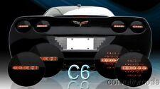 Corvette C6 LED Black Onyx Tail Lights