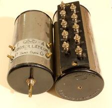 2 blocs de bobinages pour poste batterie, marque J.D.&C.