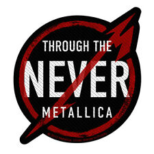 Metallica Through The Never Black Patch 10x11cm
