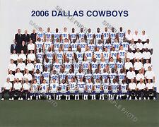 2006 DALLAS COWBOYS FOOTBALL TEAM 8X10 PHOTO PICTURE