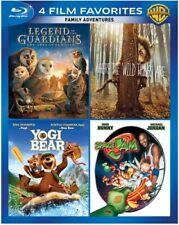 4 Film Favorites Bluray NEW SEALED Space Jam Yogi Bear Legends Guardians