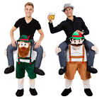 Carry Me Bavarian Beer Guy Ride On Oktoberfest Mascot New Fancy Dress Costume