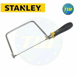Stanley FatMax Carpenters Joinery Woodworking Coping Saw 0-15-106 STA015106