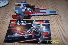 Lego Star Wars Episode III V-Wing Fighter (6205) 100% w/ Manual