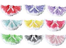 NEW Pettiskirt girl tutu skirt halloween costume doll clown fairy dorthy girl