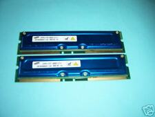 256Mb SAMSUNG (2 x 128) PC800-45  RIMM RAMBUS RDRAM ECC