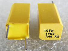 Condensateur styroflex Philips KS 1% 63V au choix