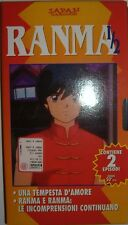 VHS - HOBBY & WORK/ RANMA 1/2 - VOLUME 2 - EPISODI 2