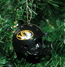 Missouri Tigers Football Helmet Christmas Ornament