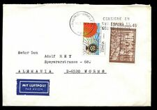 Spain 1989 Cover To Germany #C7037