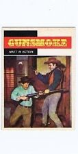 Topps 1958 Western TV Card #9 Matt in Action, vintage non-sports card