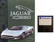 "JAGUAR XJ220 : floppy disc 3,5"" Commodore Amiga backup game disk (READ)"