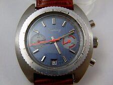 Vintage Steel Case Valjoux 7734 Chronograph