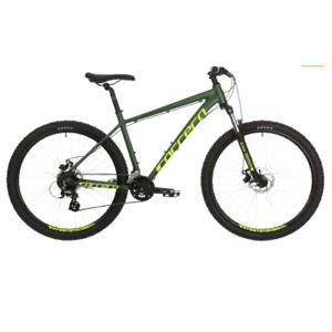 Carrera Vengeance Mens Mountain Bike 2020 Green Large Bicycle Alloy XS S M L XL