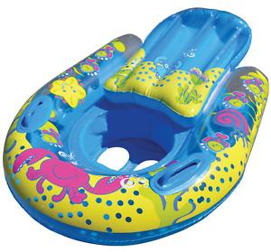 SwimSchool 4-in-1 Progressive Swim Training System, Baby Pool Float, Baby Boat,