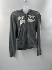 Abercrombie & Fitch Women's Gray Muscle Sweater Size XL