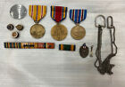 WWII+US+Army+Medals+and+Pins