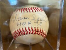 Braves Hall of Famer Warren Spahn Signed Baseball with HOF 73 - SGC Authentic