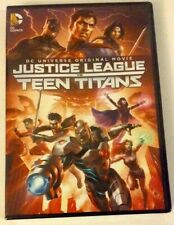 Dc Universe Original Movie: Justice League vs Teen Titans Dvd Brand New