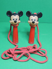 Mickey MONOGRAM corde à sauter Figurine LARFO FL 33543 Disney Vintage toy