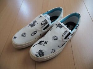 JoJo's Bizarre Adventure x VANS Dolce And His Master Slip-on Shoes US 9.5 New