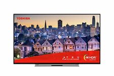 Toshiba 55UL5A63DBS 55 Inch 4K Ultra HD HDR Smart Alexa WiFi LED TV - Silver.