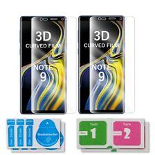 2x Samsung Galaxy Note 9 3D Folie Curved Film Panzerfolie Schutzfolie