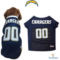 LOS ANGELES CHARGERS Dog Jersey * XS-XXL * NFL Football Team Pet Gear *FREE SHIP