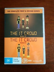 The IT Crowd Series 1 & 2 DVD