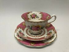 Royal Albert LADY CARLYLE trio 1944-1950 excellent