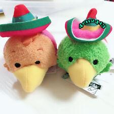 The Three Caballeros tsum tsum Plush Doll Toy 2pcs JoseCarioca Panchito Rare