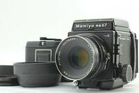 【Near MINT】 Mamiya RB67 Pro S w/ Sekor C 127mm f/3.8 Lens 2 Film back from JAPAN