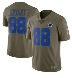 Nike Dallas Cowboys Dez Bryant #88 Limited Salute To Service Jersey Youth Sz Med